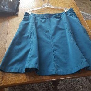 L.L. Bean flared skirt 16 petite